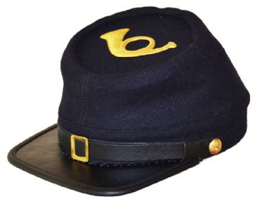 Union Infantry Blue Kepi With Badge